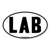 Euro Lab Oval Oval Decal