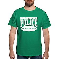 Proud Police Husband T-Shirt