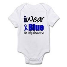 I Wear Blue For My Grandma Infant Bodysuit
