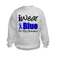 I Wear Blue For My Grandma Sweatshirt