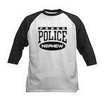 Proud Police Nephew Kids Baseball Jersey