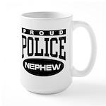 Proud Police Nephew Large Mug