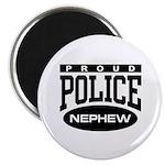 Proud Police Nephew Magnet