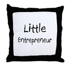 Little Entrepreneur Throw Pillow