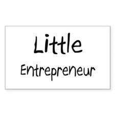 Little Entrepreneur Rectangle Decal