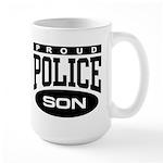 Proud Police Son Large Mug