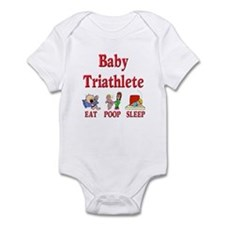 Baby Triathlete 2 Infant Bodysuit