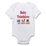 Baby Triathlete Onesie