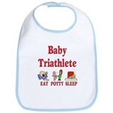 Baby Triathlete Bib