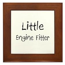 Little Engine Fitter Framed Tile