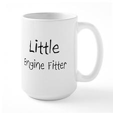Little Engine Fitter Large Mug