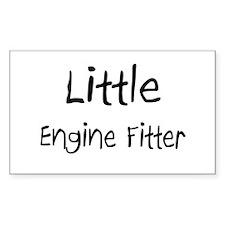 Little Engine Fitter Rectangle Sticker