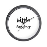Little Embalmer Wall Clock