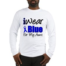I Wear Blue For My Aunt Long Sleeve T-Shirt