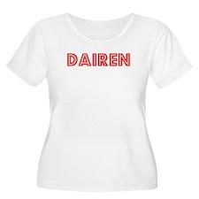 Retro Dairen (Red) T-Shirt