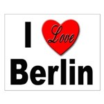 I Love Berlin Small Poster
