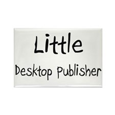 Little Desktop Publisher Rectangle Magnet