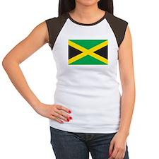 JAMAICA Womens Cap Sleeve T-Shirt
