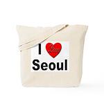 I Love Seoul South Korea Tote Bag