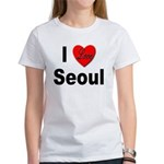 I Love Seoul South Korea Women's T-Shirt