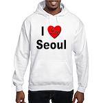 I Love Seoul South Korea (Front) Hooded Sweatshirt