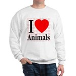 I Love Animals Sweatshirt
