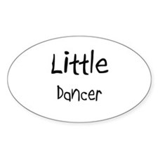 Little Dancer Oval Decal