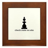 Check Mate Mr.Eko Framed Tile