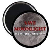 "Save Moonlight Buttons 2.25"" Magnet (10 pack)"