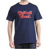 Retro Softball Co.. (Red) T-Shirt