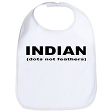 Indian (dots not feathers) Bib