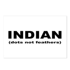 Indian (dots not feathers) Postcards (Package of 8