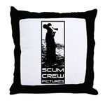 Scum Crew Throw Pillow