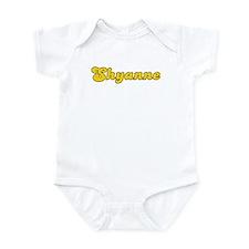 Retro Shyanne (Gold) Infant Bodysuit