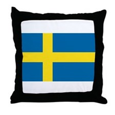 SWEDEN Throw Pillow