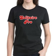 Retro Solitaire Pro (Red) Tee