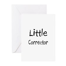 Little Corrector Greeting Cards (Pk of 10)