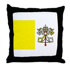 VATICAN Throw Pillow