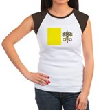VATICAN Womens Cap Sleeve T-Shirt