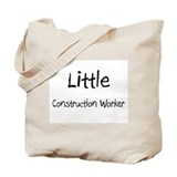 Little Construction Worker Tote Bag