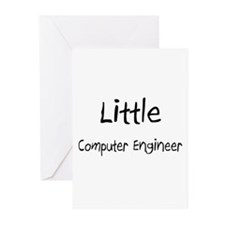 Little Computer Engineer Greeting Cards (Pk of 10)