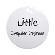 Little Computer Engineer Ornament (Round)