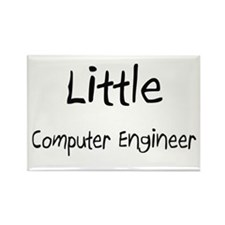 Little Computer Engineer Rectangle Magnet (10 pack