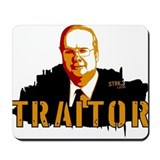 Karl Rove is a Traitor Mousepad