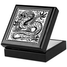 Korean Dragon Keepsake Box