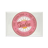 Talia Princess Beauty Goddess Rectangle Magnet