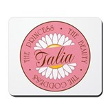 Talia Princess Beauty Goddess Mousepad