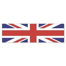 UNION JACK UK BRITISH FLAG Bumper Bumper Sticker