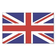 UNION JACK UK BRITISH FLAG Rectangle Decal