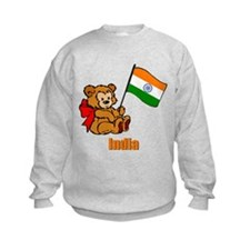 India Teddy Bear Sweatshirt